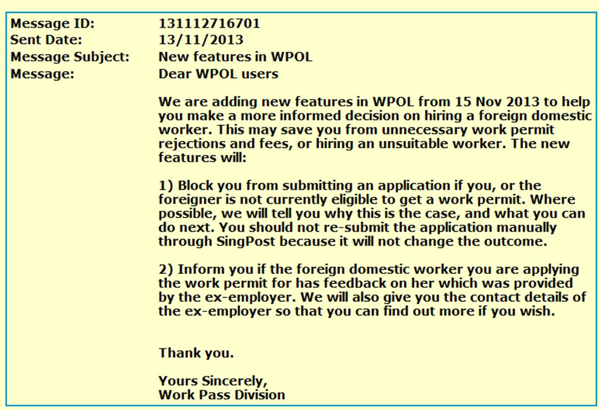 work permit rejection reasons singapore